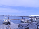 Boston Harbor for lunch.
